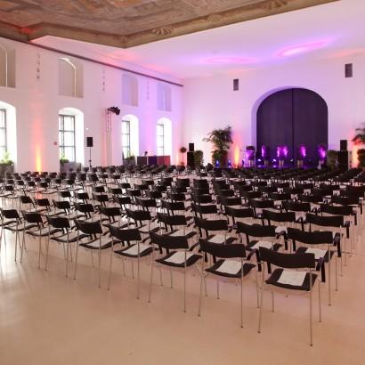 Jesuitensaal mit Kinobestuhlung