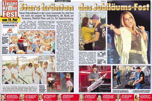 Linzer Kronefest PR