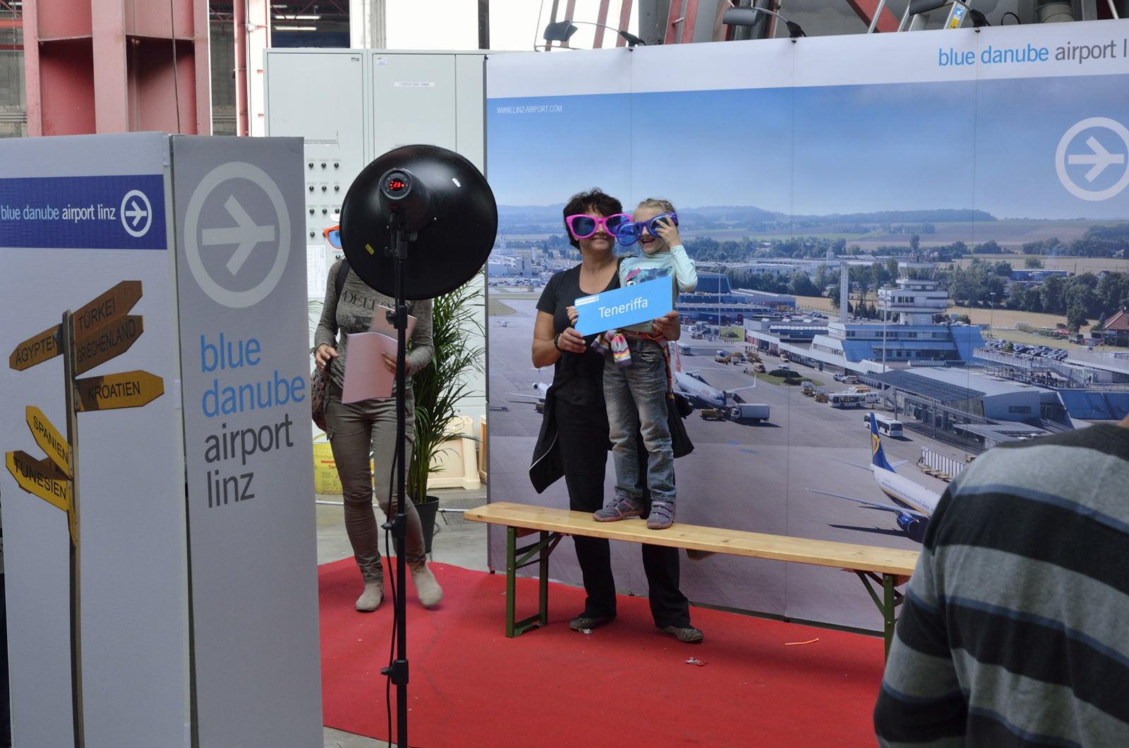 #TagderLuftfahrt #BlueDanubeAirport #KOOPlive