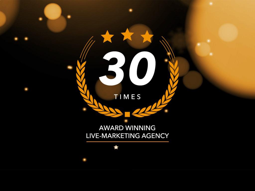 #30 Awards #KOOPLive #Livemarketing